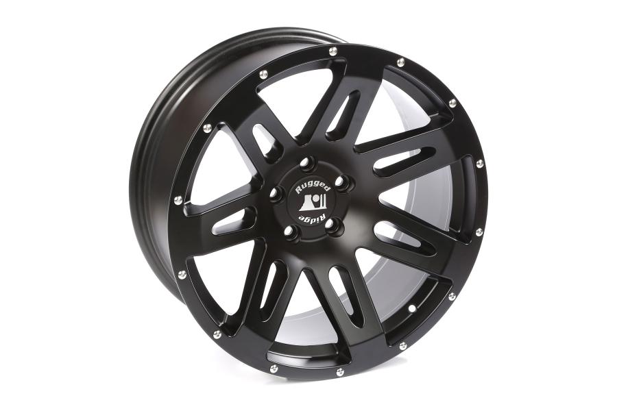 Rugged Ridge XHD Satin Black Wheel 20x9 5x5 (Part Number:15306.01)