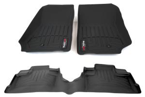 WeatherTech Front and Rear Floorliner Kit - JK 4dr 2007-13 (Part Number: )