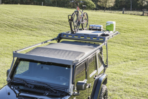 LOD Easy Sliding Roof Rack Rear Retractable Handle Black PC (Part Number: )