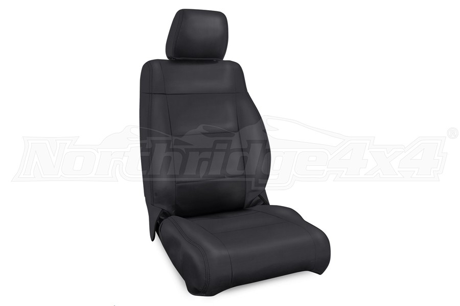 PRP Front Seat Covers, Pair, Black - JK  2007-10