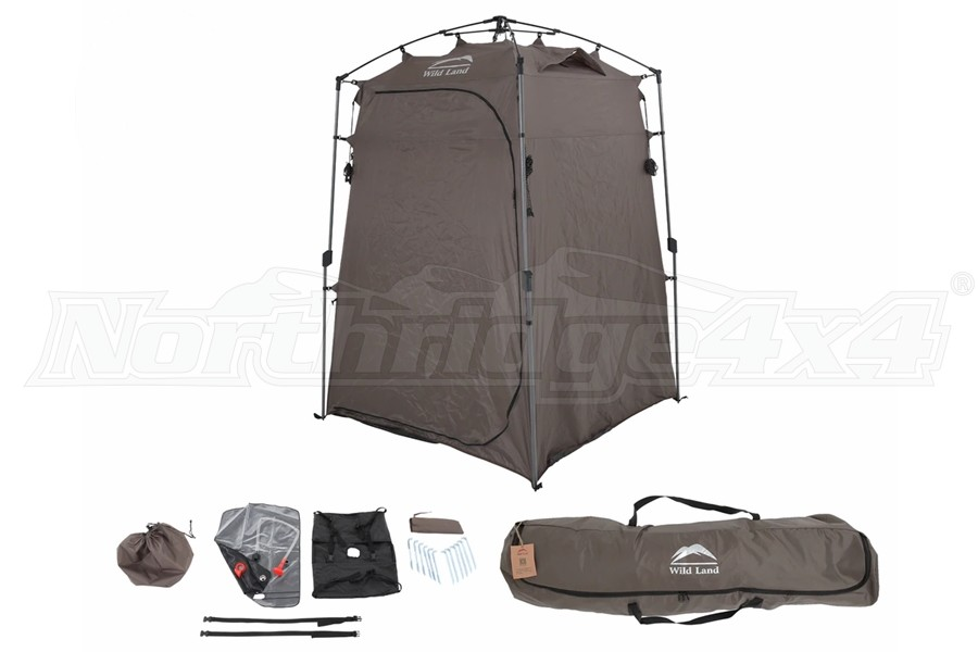 Overland Vehicle Systems Wild Land Portable Privacy Room