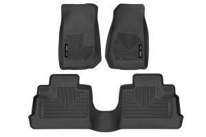 Husky Liners X-Act Front and Rear Contour Floor Liners - JK 4Dr