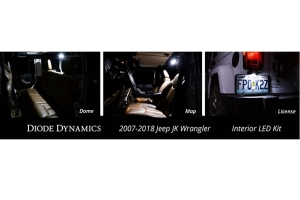 Diode Dynamics Interior LED Conversion Kit Stage 1 Red (Part Number: )