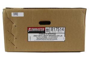 Flowmaster Force II Cat-Back Exhaust System - JK