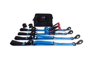 SpeedStrap Essential Off-Road 2in Tie-Down Kit, Blue  (Part Number: )