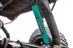 SpiderWebShade Seatbelt Silencers - Teal - JK 4Dr