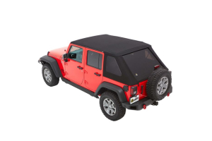 Bestop Trektop NX Plus Soft Top Black Diamond ( Part Number: 56853-35)