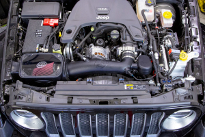 Cold Air Intake Dry Filter Extendable (Part Number: )
