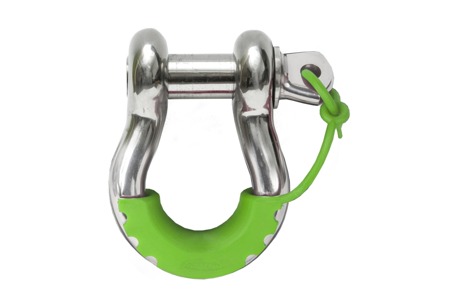 Daystar Pair Locking D-Ring Isolators, Fluorescent Green (Part Number:KU70058FG)