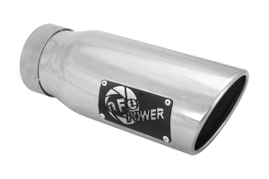 aFe Power Mach Force-Xp 4in Exhaust Tip - Polished