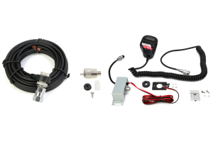 CB Distrbuting Cobra 75Wxst CB w/18' Coax Cable & Firestik Package - JK