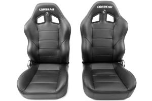Corbeau Baja XRS Suspension Seat Black Vinyl ( Part Number: 96601)