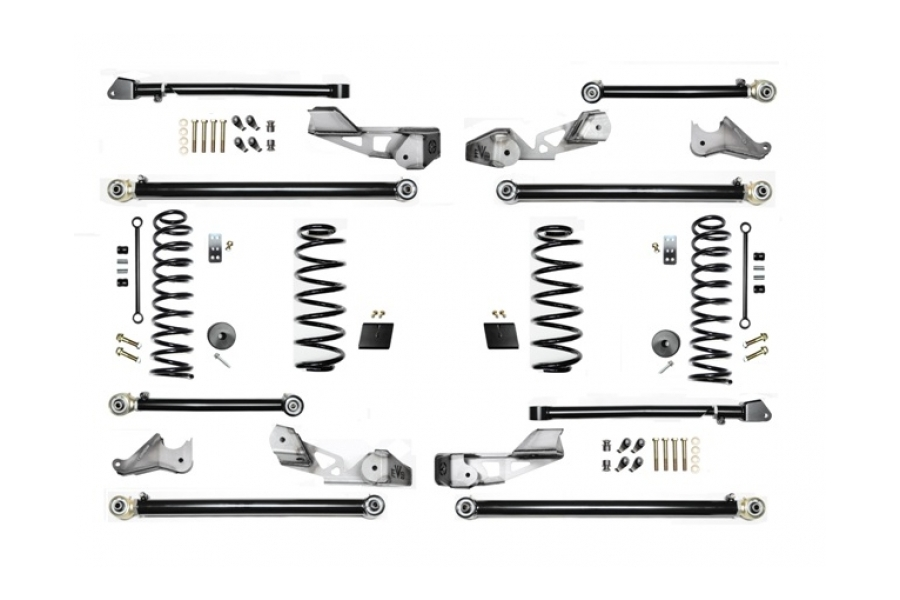 EVO Manufacturing 2.5in High Clearance Long Arm Lift Kit - JL 4dr