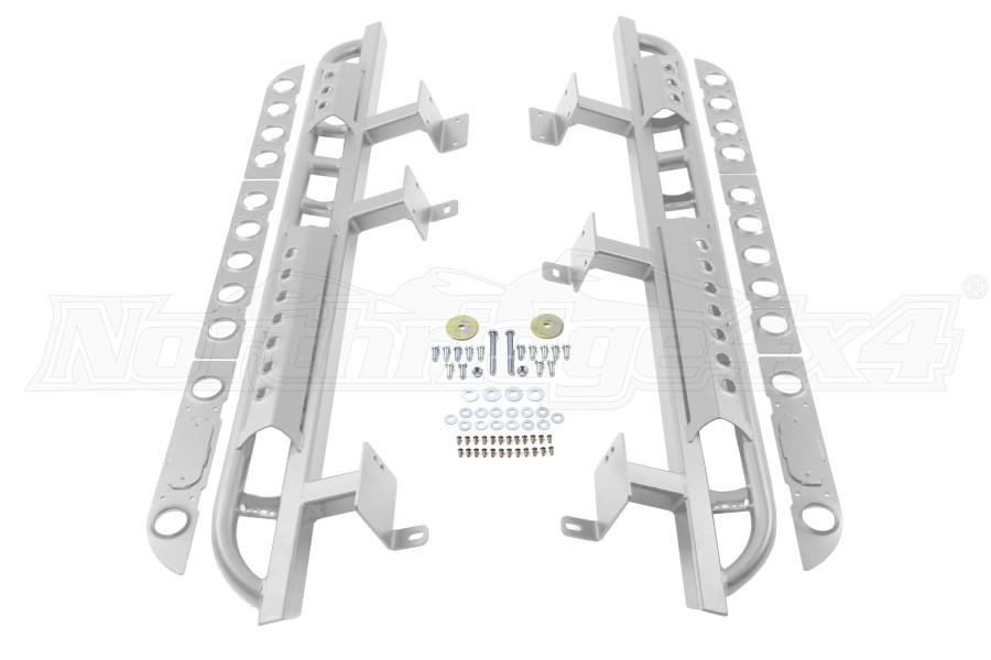 LOD Signature Series Rock Sliders Bare Steel (Part Number:JRS0740)