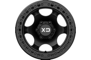 XD Series Wheels XD232 Satin Black Beadlock Wheel, 17X9 8X6.5