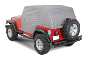 Vertically Driven Products Full Monty Cab Cover w/Half Door Earys Grey - TJ