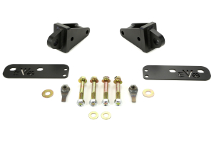 Evo Manufacturing Rear Steel Fascia w/D-Ring Mount Black (Part Number: )