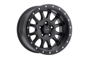 Pro Comp Series 44 Syndrome Satin Black 17x9 5x5 (Part Number: )