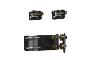 Rubicon Express Dual Monotube Steering Stabilizer Bracket Kit  (Part Number: )