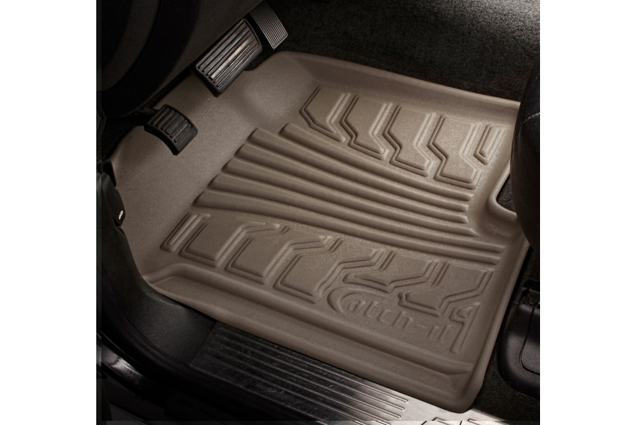 Lund Catch-It Vinyl Front Floor Mats, Tan  (Part Number:283144-T)
