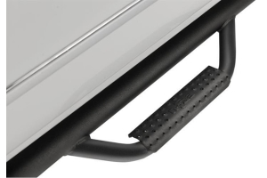 N-Fab Step Systems Full Length Nerf Steps - Textured Black   - Ford Bronco