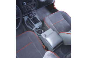 Tuffy Security Series II Security Full Console Charcoal Grey (Part Number: )