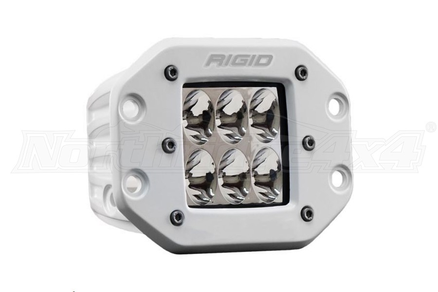 Rigid Industries D-Series Pro Specter Driving Flush Mount Single (Part Number:711313)