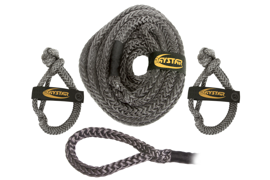 Daystar Recovery Rope 25ft w/2 Soft Shackles
