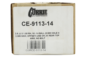 Currie Enterprises 2 1/2in Forged Johnny Joint  (Part Number: )