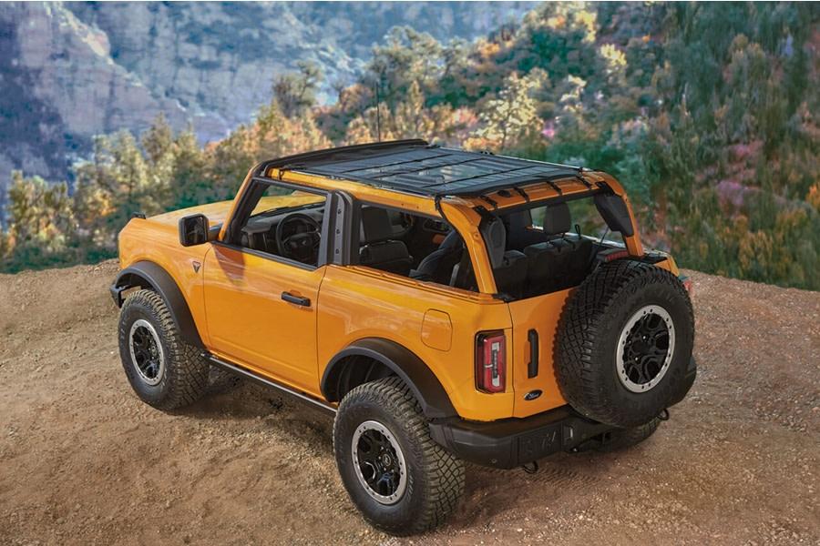 Bestop Mesh Bimini Sunshade  - Ford Bronco 2Dr