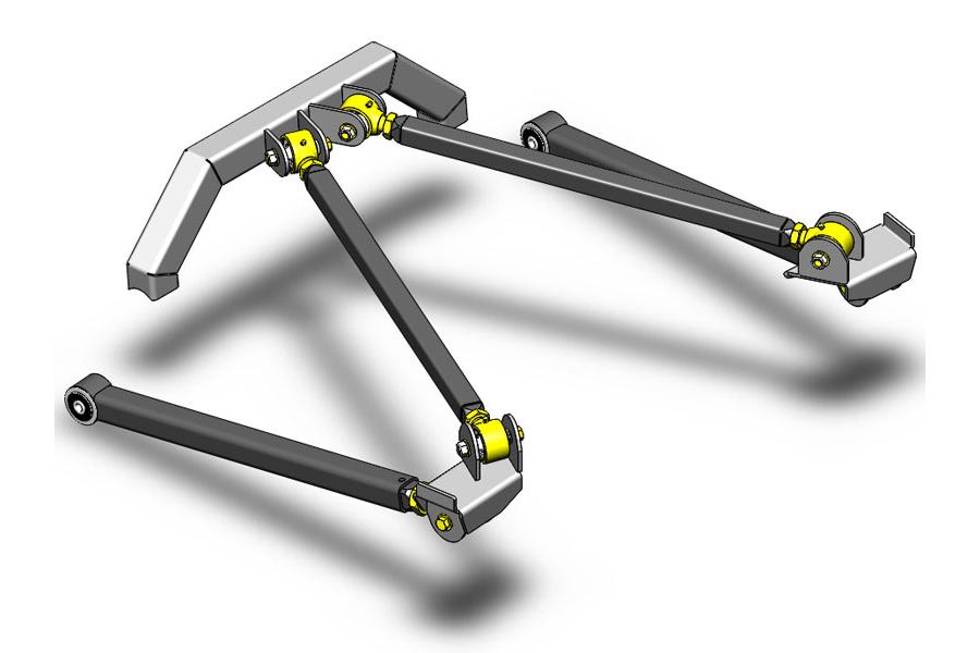 Clayton Rear Long Arm Upgrade Kit  (Part Number:4805003)