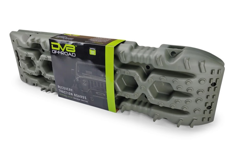 DV8 Offroad Traction Boards w/ Carry Bag - Olive
