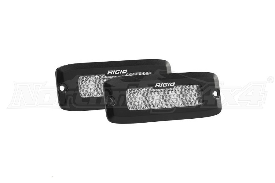 Rigid Industries SR-Q Series PRO Flood Diffused Backup Light Kit Flush Mount  (Part Number:980033)