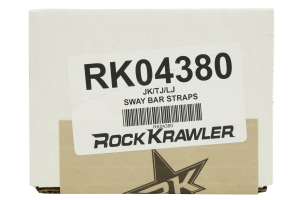 Rock Krawler Sway Bar Strap Kit (Part Number: RK04380)