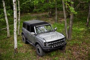 Baja Designs 50in Onx6+ Roof Light Bar Kit w/ Upfitter  - Ford Bronco