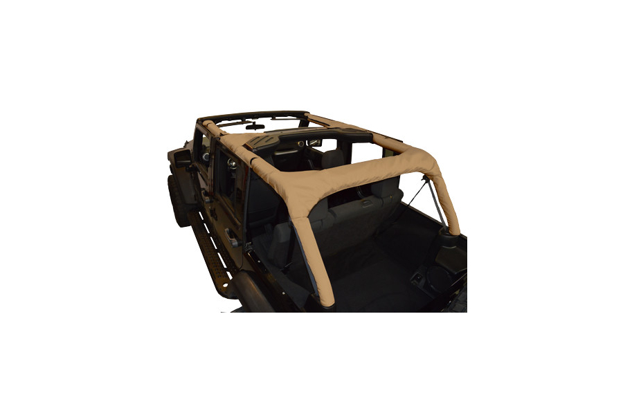 Dirty Dog 4x4 Roll Bar Covers Sand - JK 4dr