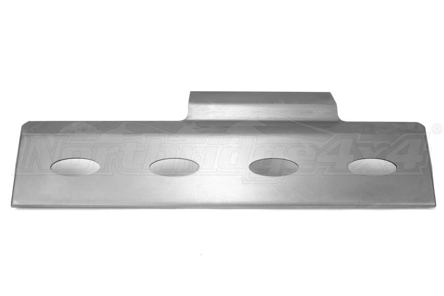Poison Spyder Brawler Lite Front Skid Bare Steel (Part Number:17-59-030)