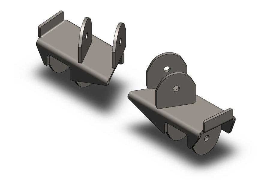 Clayton Rear Frame Brackets (Part Number:2207020)