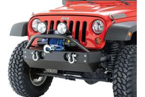 Rock Hard 4x4 Patriot Series Aluminum Front Bumper w/Fog Light Cutouts (Part Number: )