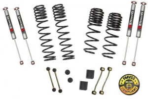 Skyjacker Suspension 2-2.5 In Lift Dual Rate-Long Travel Lift Kit System W/ M95 Shocks - JL Non-Rubicon