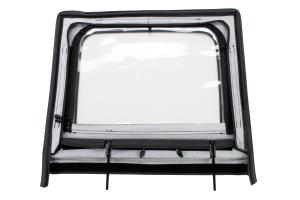 Rugged Ridge Rear Upper Soft Doors Diamond Black (Part Number: )