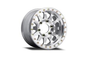 Method Race Wheels MR101 Beadlock Wheel w/Blank Bolt Pattern, Raw Machined 17X9 BLANK Bolt Pattern