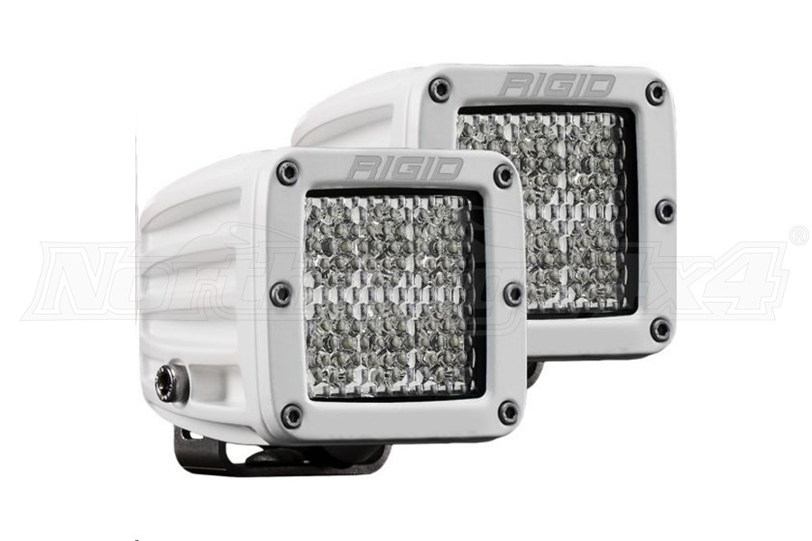 Rigid Industries D-Series Pro Specter Diffused, Pair (Part Number:702513)