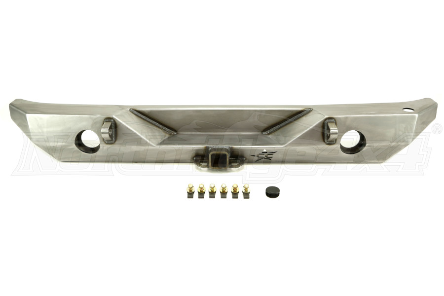 Crawler Conceptz Ultra Series II Rear Bumper with Hitch and Tabs (Part Number:US-RB2-100)