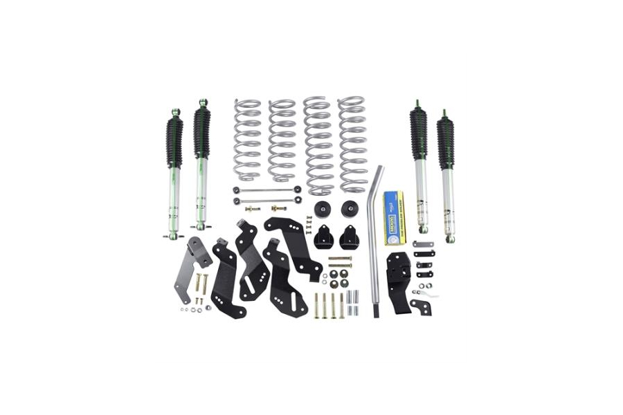 Rubicon Express Sport Lift Kit 3.5in w/Monotube Shocks (Part Number:RE7145M)
