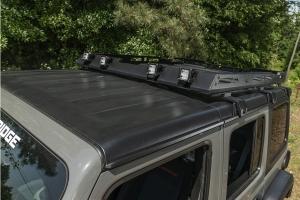 Rugged Ridge Roof Rack w/ Basket  - JL 4Dr