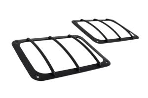 Kentrol Taillight Guard Set - Textured Black  - JK