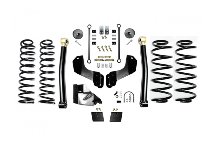EVO Manufacturing 3.5in Enforcer Overland Lift Kit Stage 2 (Part Number:3014S2)