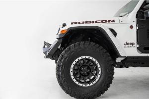 Addictive Desert Designs Stealth Fighter Full Width Front Bumper w/ Hoop - JT/JL Rubicon Only