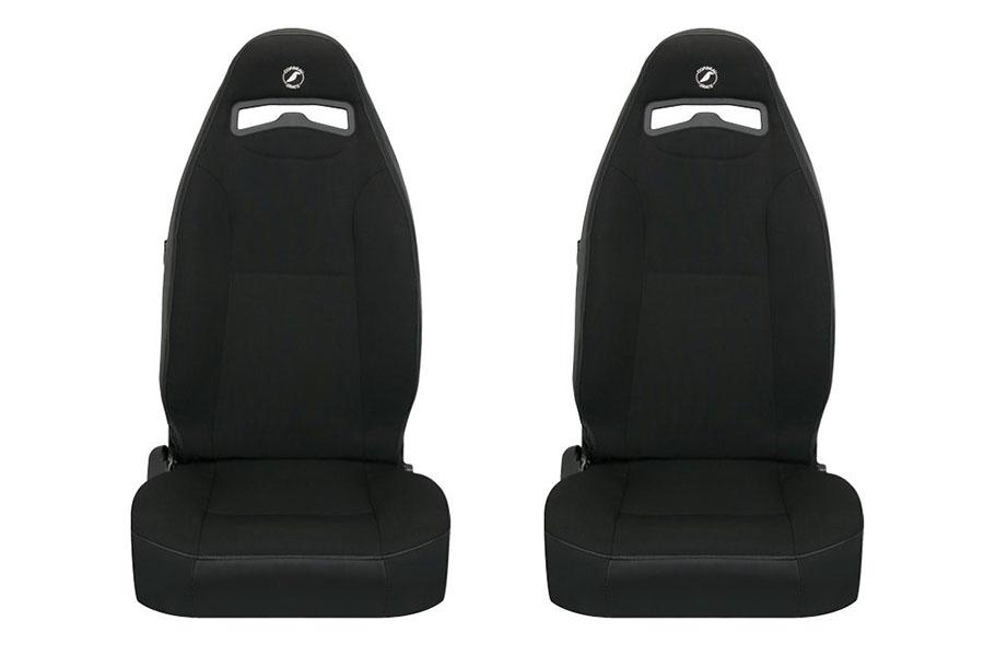 Corbeau Moab Black Neoprene Seat Pair